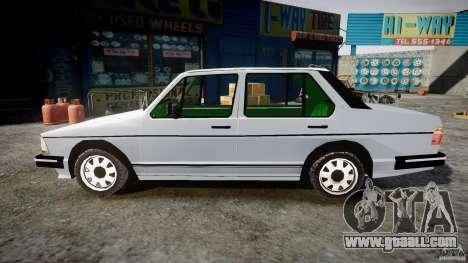 Volkswagen Jetta 1981 for GTA 4 left view