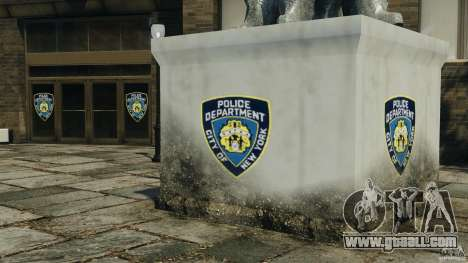 Remake second police station for GTA 4 third screenshot