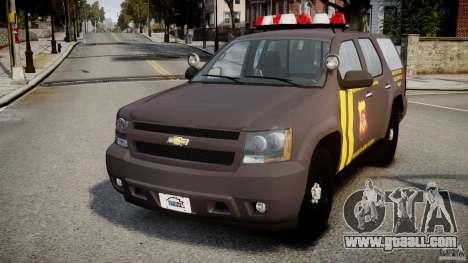 Chevrolet Tahoe Indonesia Police for GTA 4