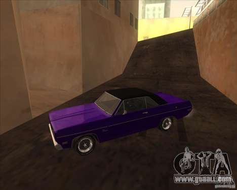 1971 Plymouth Scamp for GTA San Andreas left view