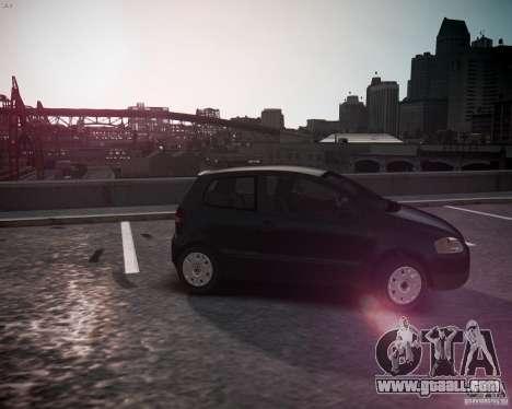 Volkswagen Fox 2011 for GTA 4 left view