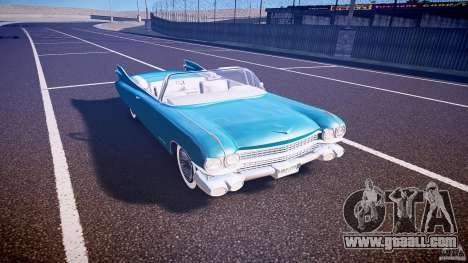 Cadillac Eldorado 1959 interior white for GTA 4 inner view