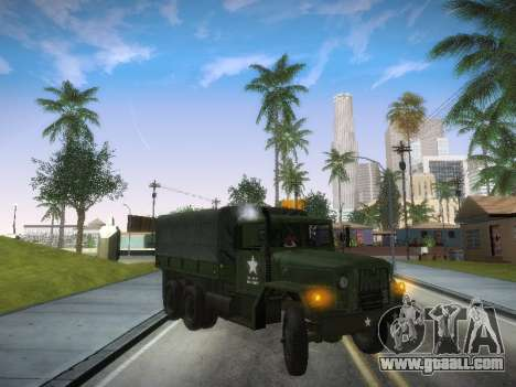 AM General M35A2 for GTA San Andreas left view