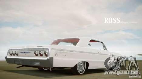 Chevrolet Impala SS 1964 for GTA 4