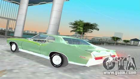 Pontiac GTO The Judge 1969 for GTA Vice City right view