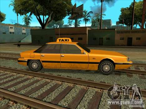 Intruder Taxi for GTA San Andreas right view