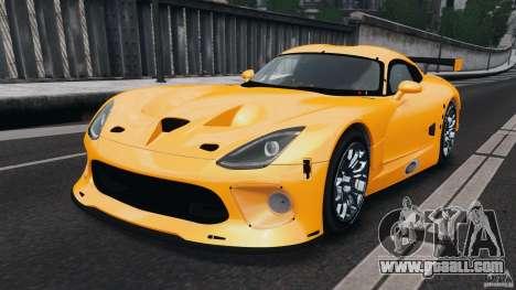 SRT Viper GTS-R 2012 v1.0 for GTA 4