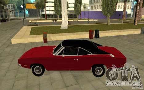 Dodge Charger R/T 1969 for GTA San Andreas left view