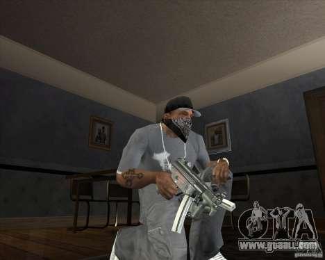 Jarra Mono Arsenal v1.2 for GTA San Andreas forth screenshot