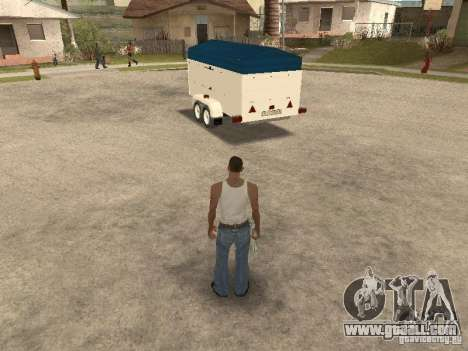 Trailer for Ford Transit 2007 for GTA San Andreas