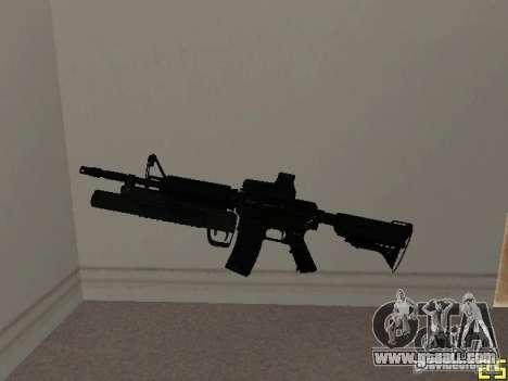 M4 MOD v3 for GTA San Andreas