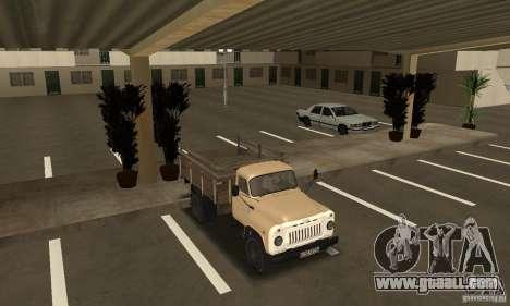 Gaz-52 for GTA San Andreas inner view