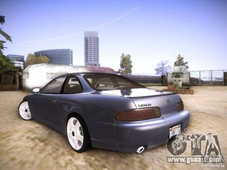 Lexus SC300 - Stock for GTA San Andreas left view