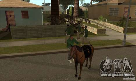 Horse for GTA San Andreas sixth screenshot