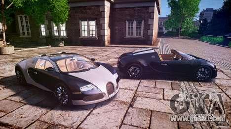 Bugatti Veyron Grand Sport [EPM] 2009 for GTA 4 bottom view