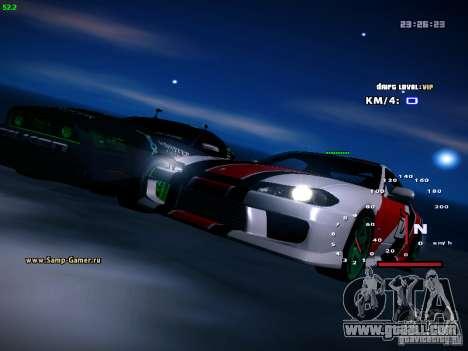 Nissan Silvia S15 DragTimes for GTA San Andreas