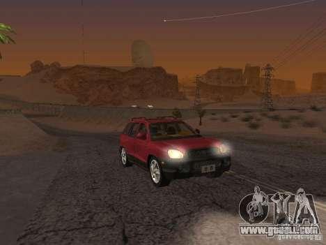 Hyundai Santa Fe Classic for GTA San Andreas