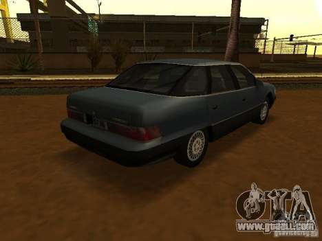 Mercury Sable GS 1989 for GTA San Andreas left view