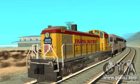RS3 Diesel Locomotive Union Pacific for GTA San Andreas