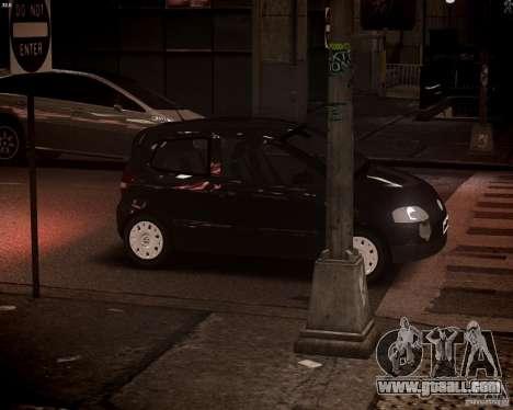 Volkswagen Fox 2011 for GTA 4 upper view