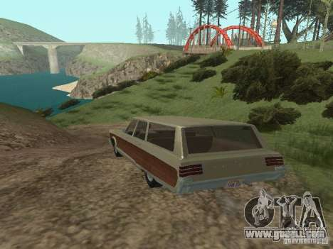 Chrysler Town and Country 1967 for GTA San Andreas right view