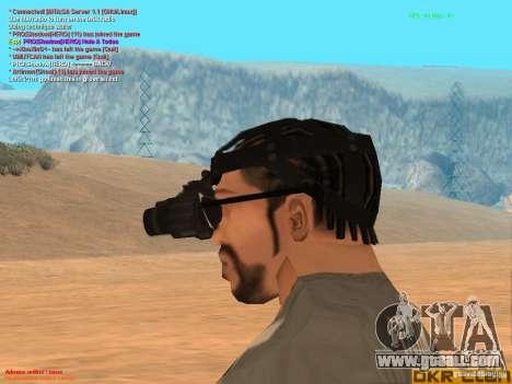 NV Goggles for GTA San Andreas third screenshot