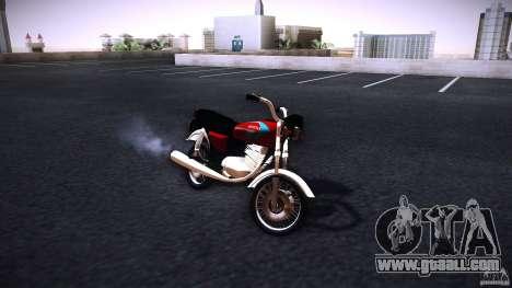 Honda CG 125 for GTA San Andreas