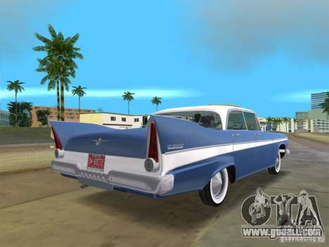 Plymouth Belvedere 1957 sport sedan for GTA Vice City left view