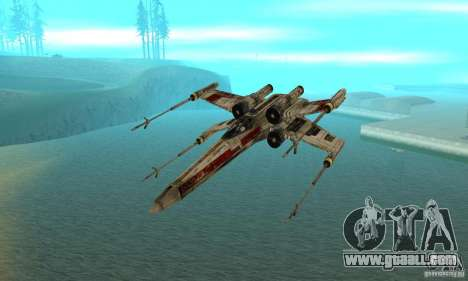 X-WING of Star Wars v1 for GTA San Andreas right view