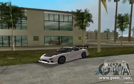Mazda RX-7 FD3S for GTA Vice City back left view