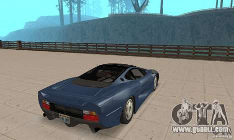 Jaguar XJ220 for GTA San Andreas left view