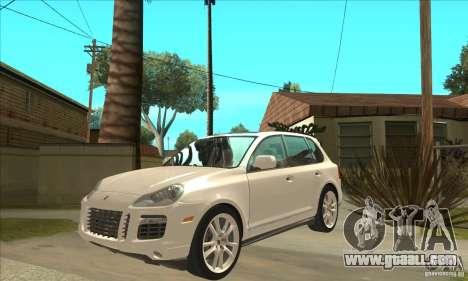 Porsche Cayenne Turbo S 2009 for GTA San Andreas