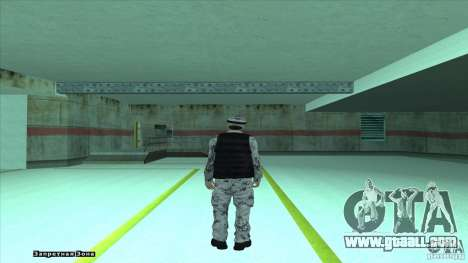 Army Soldier v2 for GTA San Andreas second screenshot