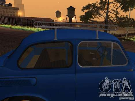 ZAZ 965M for GTA San Andreas upper view