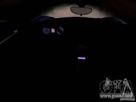 Alfa Romeo 8C Spider 2012 for GTA San Andreas wheels