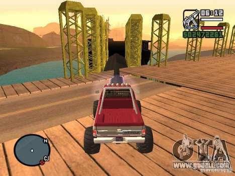 Monster tracks v1.0 for GTA San Andreas ninth screenshot