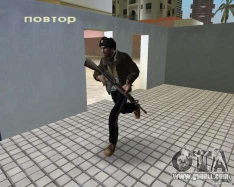 Niko Bellic in ear flaps for GTA Vice City forth screenshot