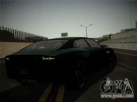 Lamborghini Estoque Concept 2008 for GTA San Andreas upper view