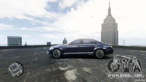 Mercedes-Benz S65 AMG for GTA 4 right view