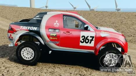 Mitsubishi L200 Triton for GTA 4 left view