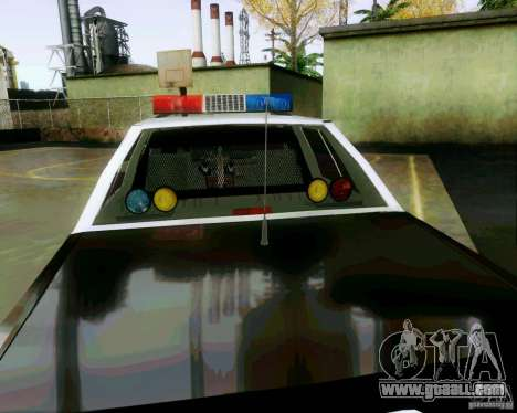 Ford Crown Victoria LTD 1991 SFPD for GTA San Andreas side view