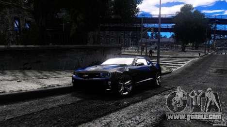 Chevrolet Camaro ZL1 for GTA 4