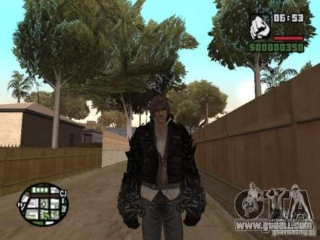 Alex Mercer for GTA San Andreas