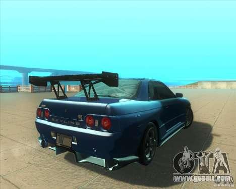 Nissan Skyline GT-R R32 1993 Tunable for GTA San Andreas