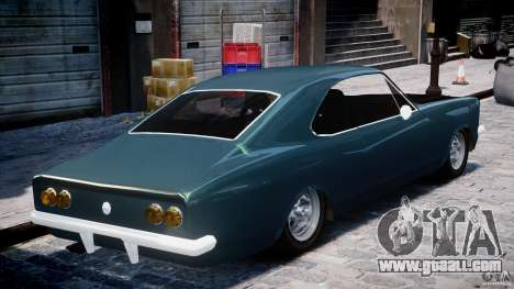 Chevrolet Opala 1979 v1.0 [BETA] for GTA 4 inner view