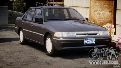 Mercury Tracer 1993 v1.0 for GTA 4 inner view