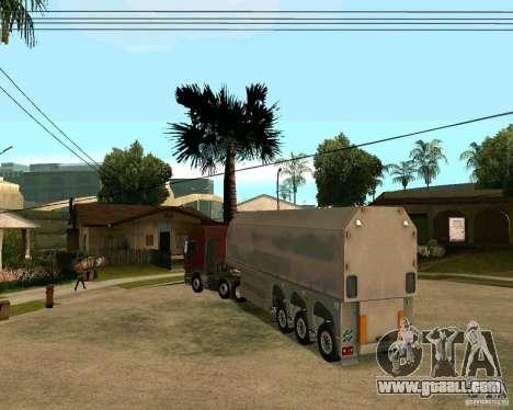Trailer Steklovoz for GTA San Andreas