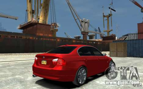 BMW 330i E90 for GTA 4 right view