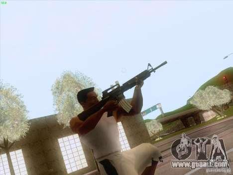 M16A4 for GTA San Andreas second screenshot