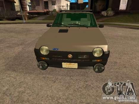 Fiat Ritmo for GTA San Andreas upper view